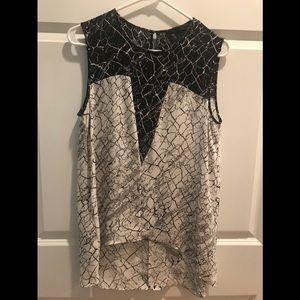 BCBG MaxAzria sleeveless blouse